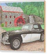1963 Austin And Sudbury Mill Wood Print