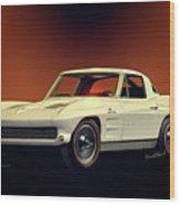 1963 Corvette 2nd Generation Wood Print