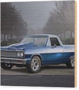 1964 Chevrolet El Camino IIi Wood Print