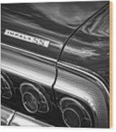 1964 Chevrolet Impala Ss Wood Print