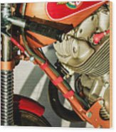 1964 Ducati 250cc F3 Corsa Motorcycle -2727c Wood Print
