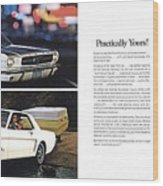 1964 Ford Mustang-10-11 Wood Print