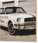 1964 Ford Mustang Wood Print