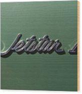 1964 Oldsmobile Jetstar Emblem Wood Print