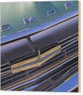 1964 Oldsmobile Jetstar Hood Ornament Wood Print