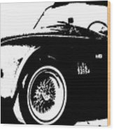 1964 Shelby Cobra Sketch Wood Print