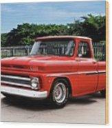 1965 Chevrolet 3100 Pickup I Wood Print