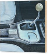 1965 Corvette Hurst Shifter Wood Print