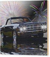 1965 El Camino Wood Print by Patricia Stalter