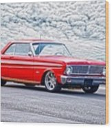 1965 Ford Falcon Sprint 289 Wood Print