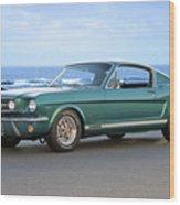 1965 Ford Mustang Fastback II Wood Print