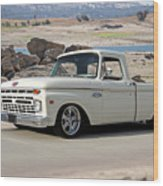 1965 Ford 'twin I Beam' Pickup Wood Print