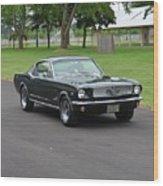 1965 Mustang Fastback Kearney Wood Print