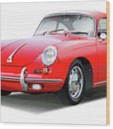 1965 Porshe 356 Sc Coupe Wood Print