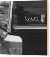1966 Chevy Nova II Wood Print