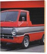 1966 Dodge A100 Pickup Wood Print