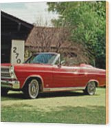 1966 Ford Fairlane 500 Convertible Wood Print