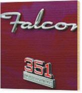 1966 Ford Falcon Wood Print