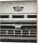 1966 Ford Pickup Truck Grille Emblem -0154ac Wood Print