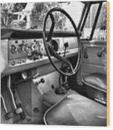1966 International Scout Driver's Side B Wood Print