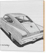 1966 Marlin By Nash Wood Print