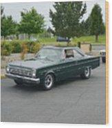 1966 Plymouth Belvedere Rapp Wood Print