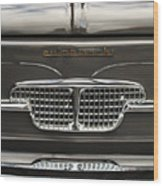 1967 Autobianchini Special Italy Grille Wood Print
