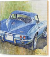 1967 Chevrolet Corvette C2 Stingray  Wood Print