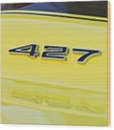 1967 Chevrolet Corvette Sport Coupe Emblem Wood Print