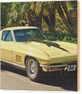1967 Chevrolet Corvette Sport Coupe Wood Print
