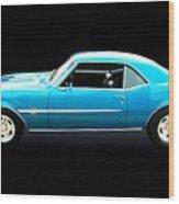 1968 Chevy Camaro Ss Wood Print