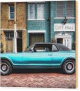 1967 Cougar Gt _hdr Wood Print