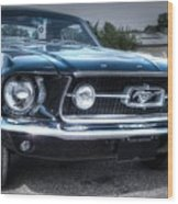 1967 Ford Mustang Wood Print