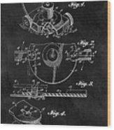 1967 Lawn Mower Patent Illustration Wood Print