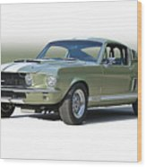 1967 Mustang 'shelby Gt 500' Wood Print