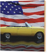 1967 Plymouth Belvedere Tribute Wood Print