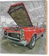 1967 Pontiac Gto American Muscle Car Wood Print
