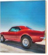 1967 S S Camaro_hdr Wood Print