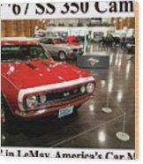 1967 Ss 350 Camaro Scharf Wood Print