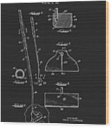 1967 Summers Golf Putter Patent Wood Print