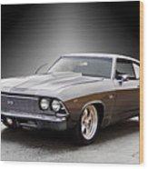 1968 Chevelle Super Sport Ll Wood Print