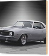 1968 Chevrolet Camaro Ss Ll Wood Print