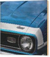 1968 Chevy Camaro Ss 396 Wood Print by Gordon Dean II