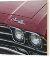 1968 Chevy Chevelle Ss Wood Print