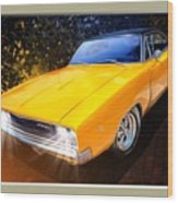 1968 Dodge Charger Coupe Wood Print