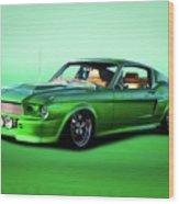 1968 Ford Mustang Fastback II Wood Print