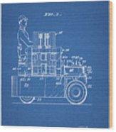 1968 Lift Truck Patent Wood Print