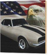 1969 Camaro Rs Tribute Wood Print