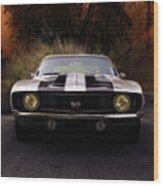 1969 Camaro Ss Wood Print