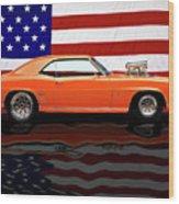 1969 Camaro Tribute Wood Print